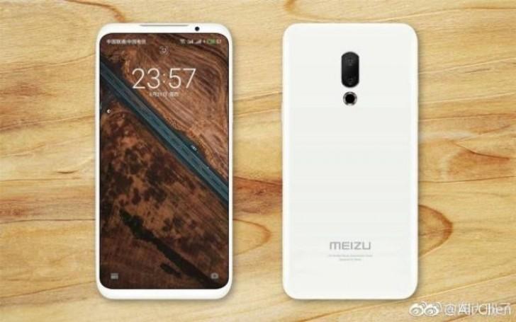 Meizu 16 появился на промо-изображении