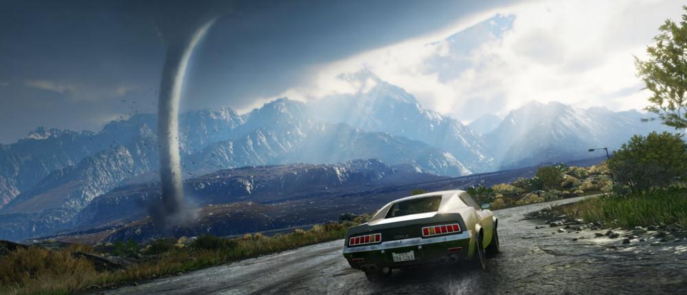 Just Cause 4 получила реалистичную физику торнадо, лавин и бурь, чтобы разнообразить геймплей