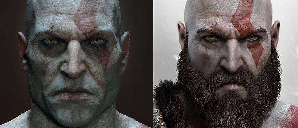 Кратос без бороды шокировал поклонников God of War