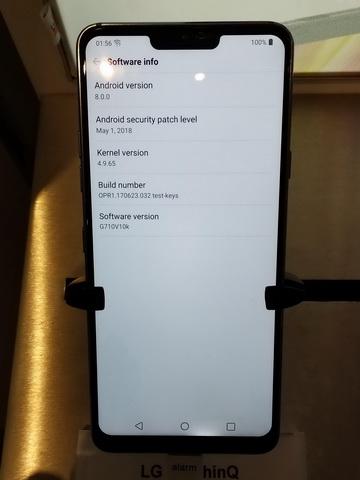 У LG G7 ThinQ обнаружена проблема с дисплеем