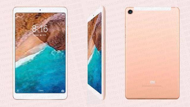 Появились фото Xiaomi Mi Pad 4
