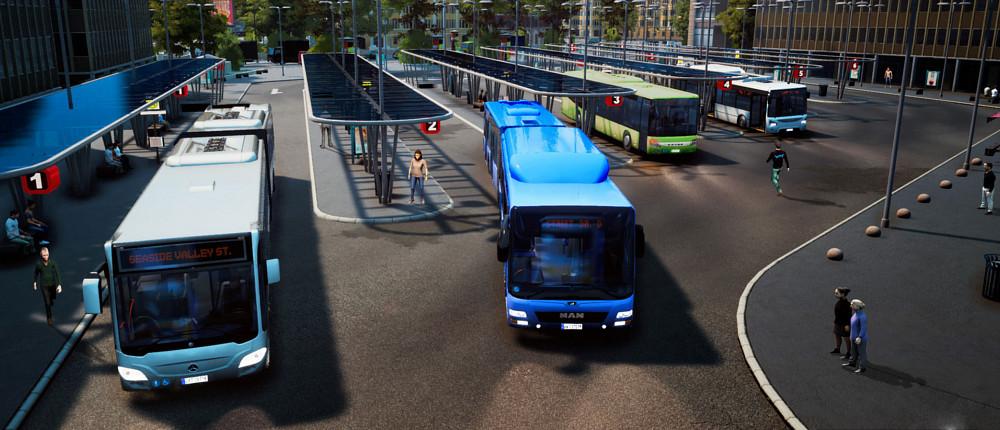 Мультиплеер Bus Simulator 18 позволит играть в компании друзей