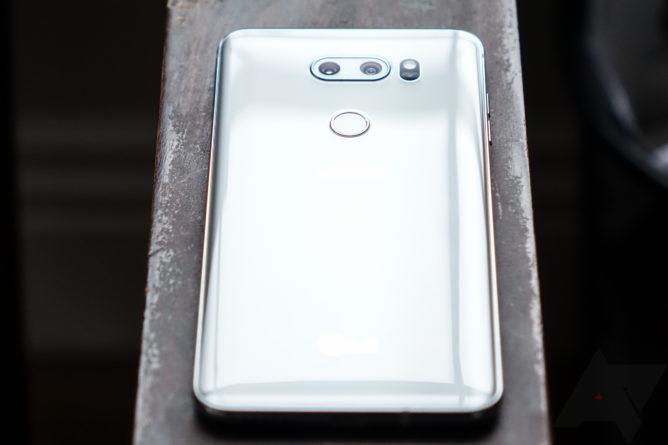 LG V40 может получить пять камер