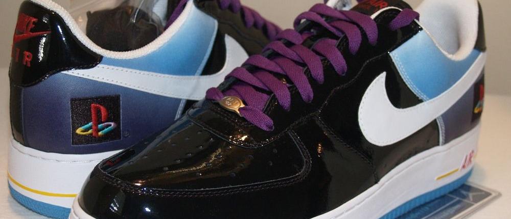 PlayStation и Nike уже в июне выпустят лимитированные кроссовки Air Force 1