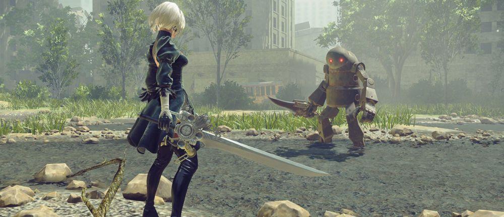 Посмотрите геймплей Nier: Automata для Xbox One X