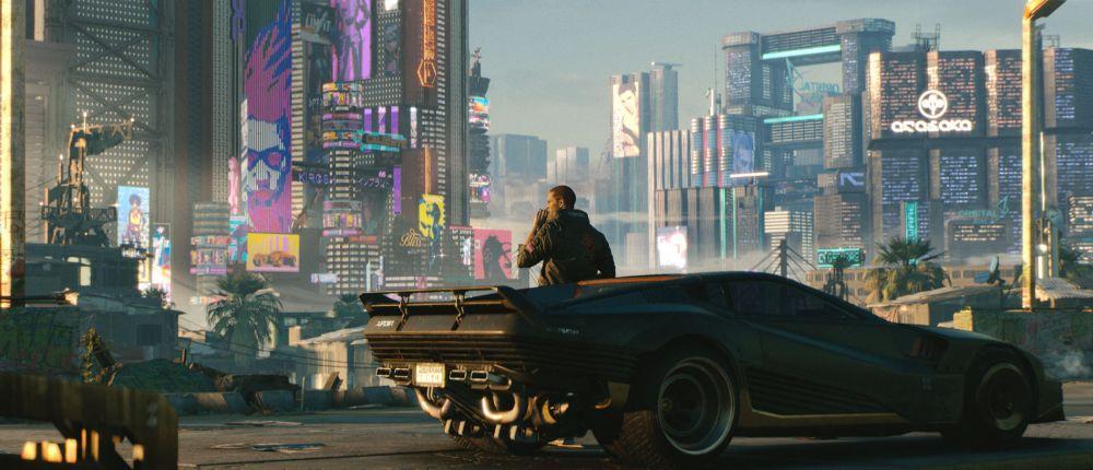 Посмотрите, как выглядит город Найт-Сити в Cyberpunk 2077