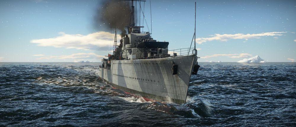 Посмотрите трейлер War Thunder, посвященный старту закрытого бета-теста морских баталий
