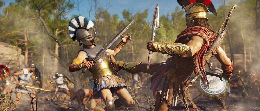 Появился полный список навыков в Assassin's Creed Odyssey — в игре будет легендарный пинок Спарты