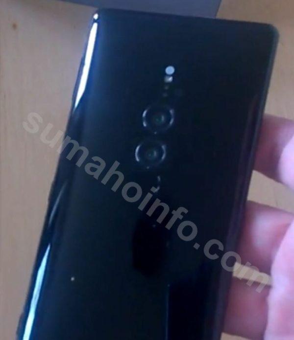 Sony Xperia XZ3 позирует на «живых» снимках
