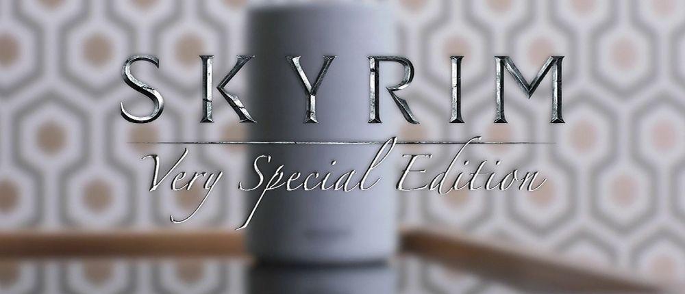 Skyrim: Very Special Edition вышла на «умной колонке» Alexa и это не шутка