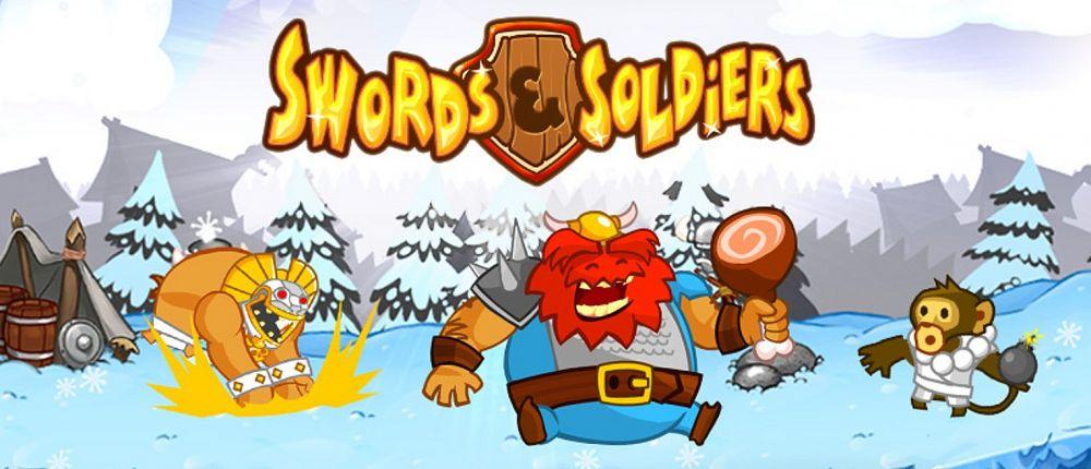 Swords & Soldiers HD про уничтожение дворцов отдают в Steam навсегда и бесплатно