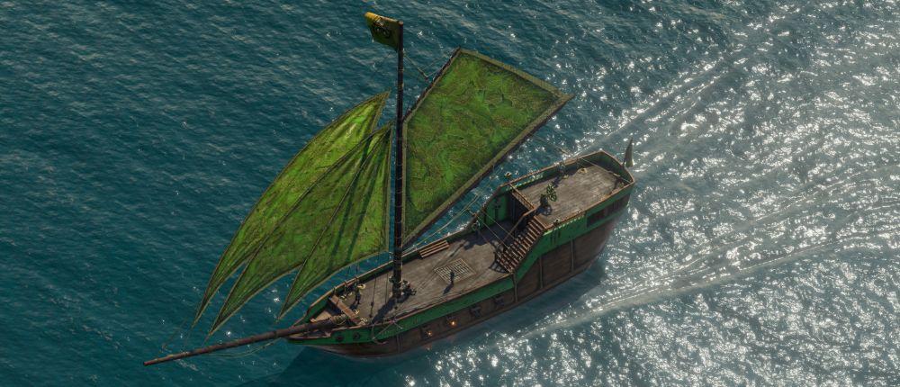 В бесплатном дополнении для Pillars of Eternity 2 добавили новые детали для корабля и членов экипажа