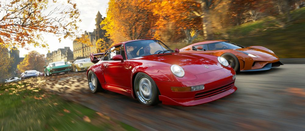 В Forza Horizon 4 можно будет создать собственную гоночную трассу