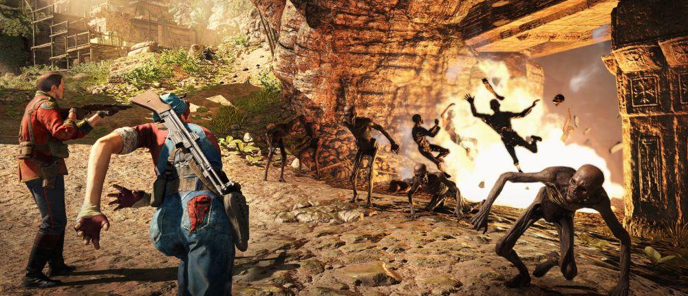 В геймплейном трейлере Strange Brigade показали, как уничтожить мумий разными способами