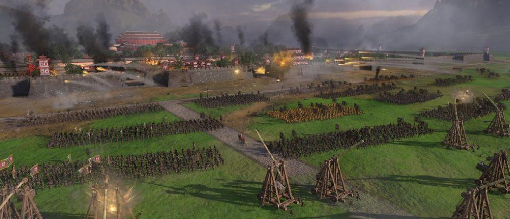 В геймплейном трейлере Total War: Three Kingdoms показали масштабную осаду замка