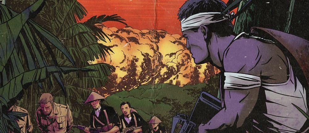 В геймплейном видео Far Cry 5: Hours of Darkness герой убивает вьетконговцев из автомата Калашникова