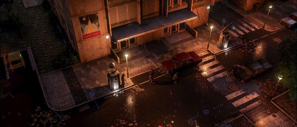 В новом трейлере Phantom Doctrine для сокрытия трупа используют экскаватор