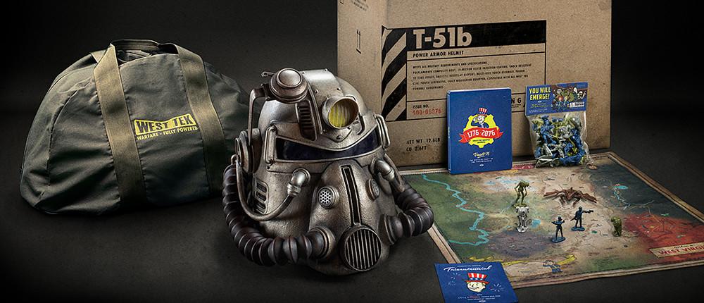 В особом издании Fallout 76 Power Armor игроки найдут работающий шлем силовой брони