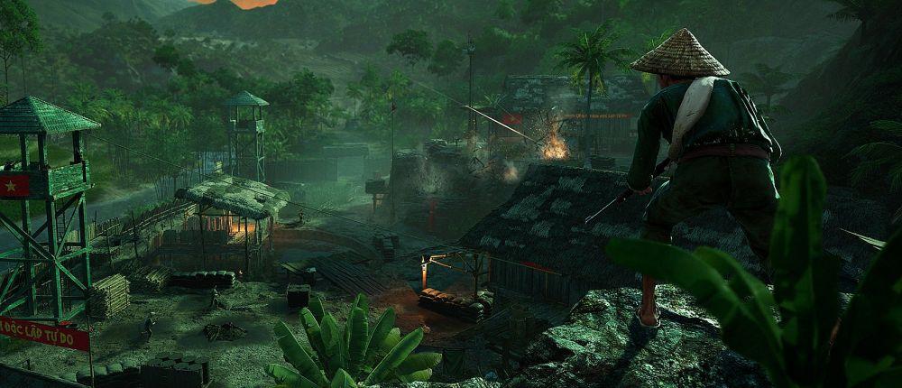 В релизном трейлере Far Cry 5: Hours of Darkness герой порвал пасть крокодилу и избил пантеру