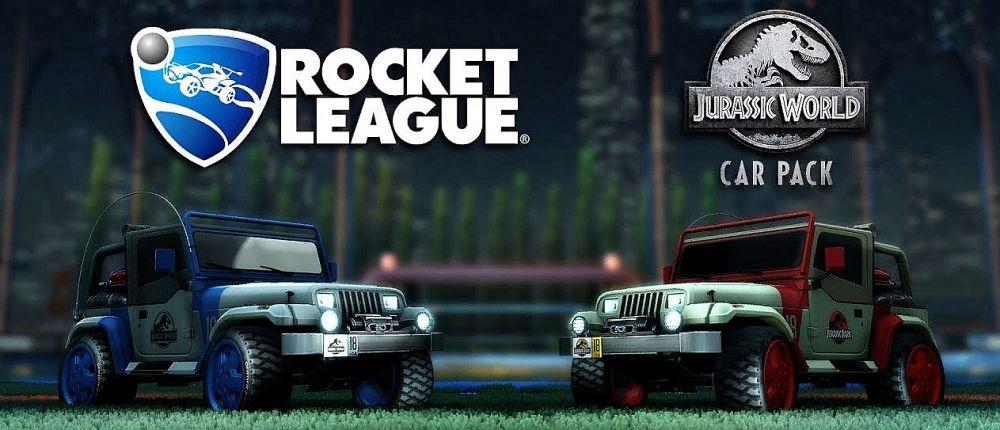 В Rocket League появятся джипы из Мира Юрского Периода