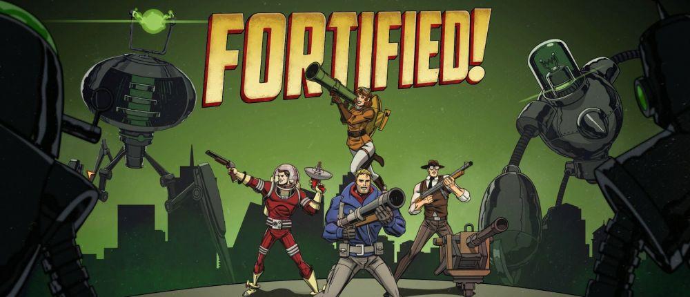 В Steam бесплатно отдают стратегический шутер о войне с марсианами Fortified