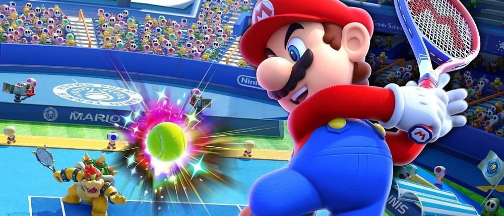 В трейлере Mario Tennis Aces Марио сразился с Рафаэлем Надалем