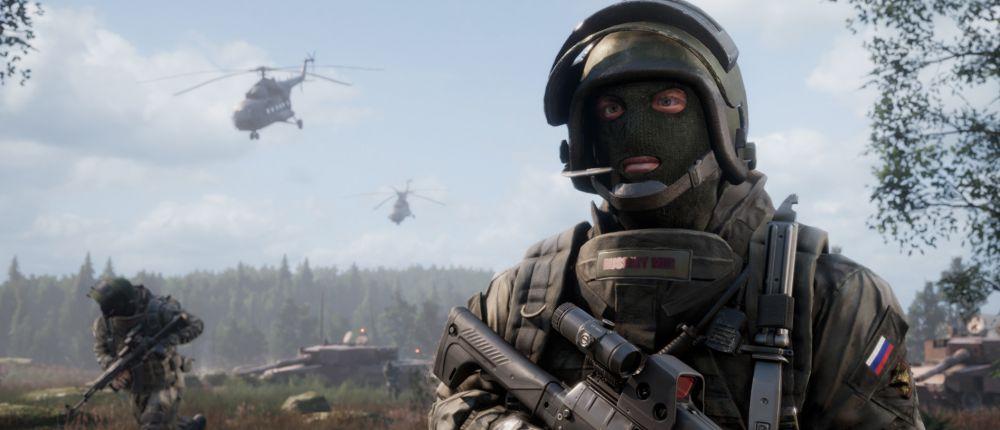 Воюющие солдаты России и Украны попали на скриншоты нового шутера о Третьей мировой