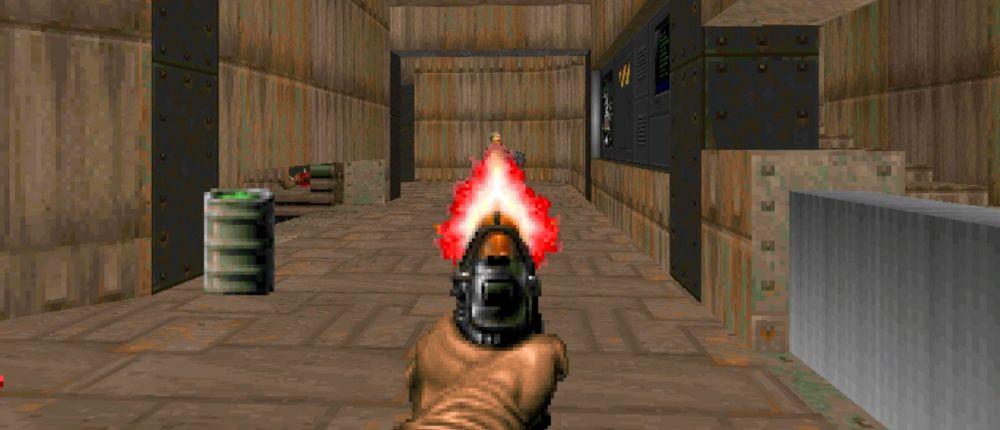 Вышла версия Doom, в которую нужно играть с косыми глазами