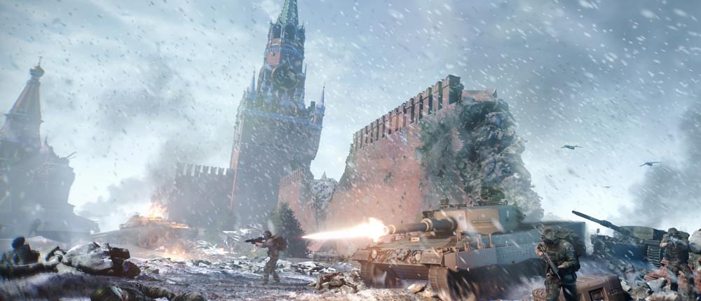 World War 3 предложит уникальную «королевскую битву». В сессии будет до 64 игроков