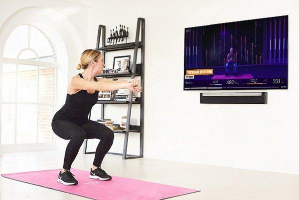 Новая платформа Fiit позволяет заниматься фитнесом дома с тренерами знаменитостей
