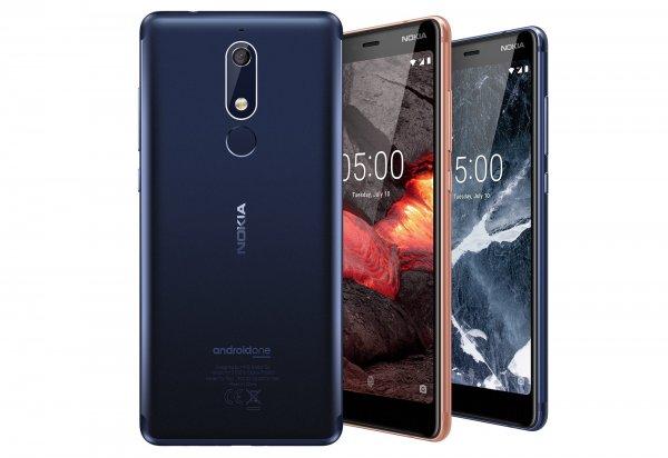 Названа цена нового смартфона Nokia 5.1