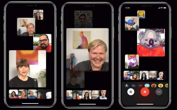 iOS 12 не оснастили функцией групповых звонков по FaceTime