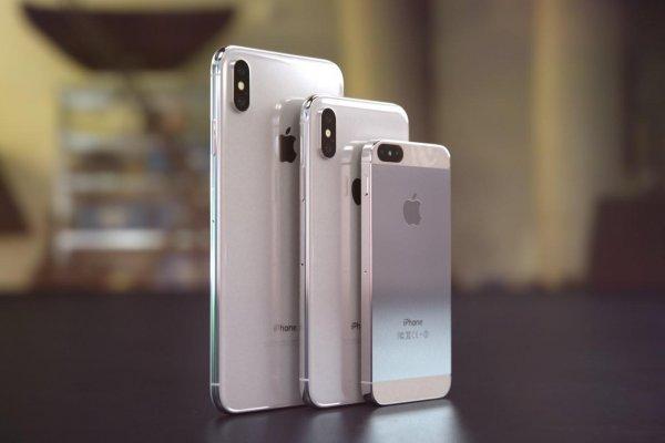 В интернете появилось видео с новыми iPhone XS