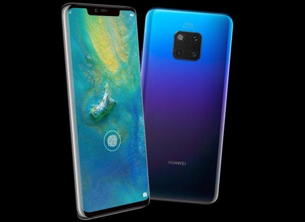Huawei выпустила новый флагман Mate 20 Pro