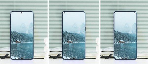 Samsung представила Galaxy A8s с небольшим отверстием для камеры на дисплее