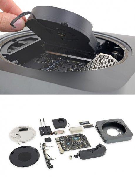 Новый Mac Mini признан экспертами наиболее ремонтопригодным