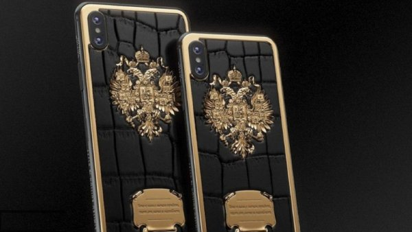 Бренд Caviar украсил iPhone XS словами Невского и Суворова