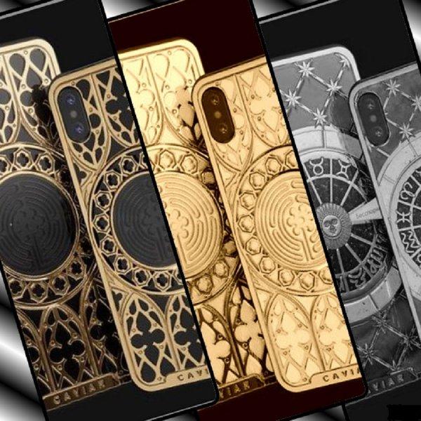 Caviar представили iPhone XS с новыми дизайнами