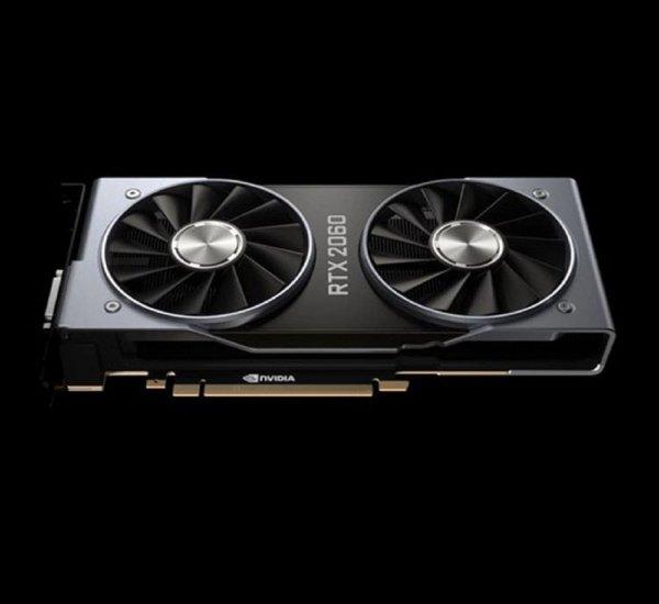 NVIDIA показала видеокарту GeForce RTX 2060 за 9 на выставке CES 2019