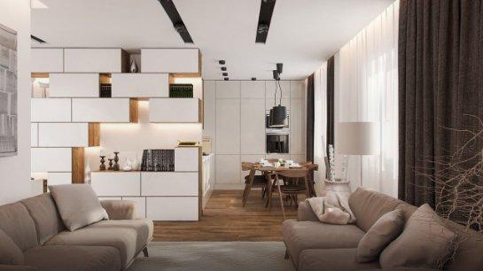 Дизайн квартир под ключ от специалистов из компании stroyhouse.od.ua
