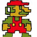 Энтузиаст воссоздал первый уровень Super Mario Bros. на тетрадке