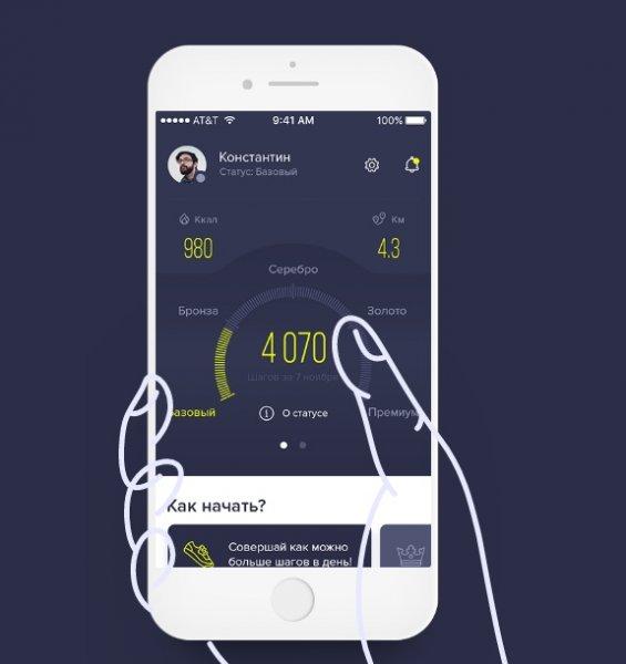 Аудитория приложения  BuyStep достигла уже 20000 человек