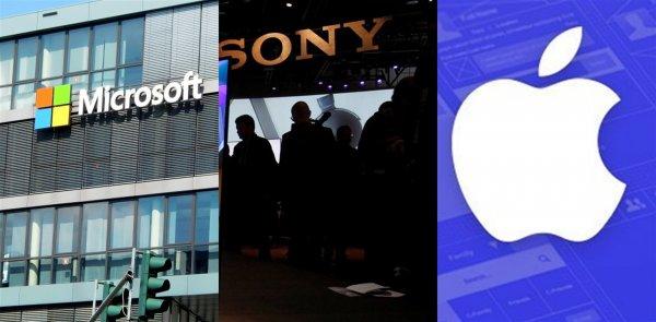 Стратегия Apple? Sony объединилась с Microsoft для разработки нового игрового девайса