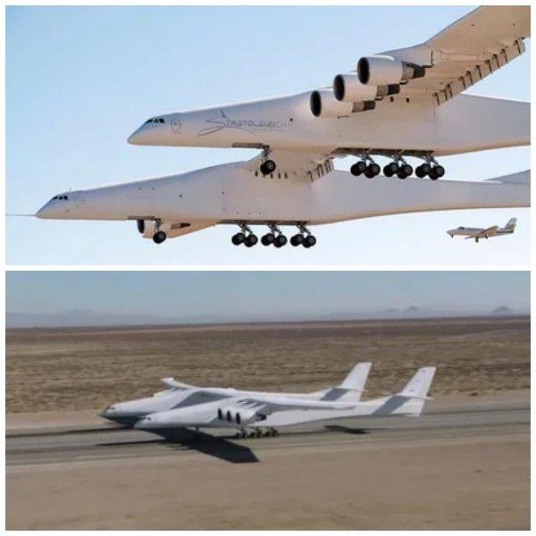 Крупнейший в мире экспериментальный самолёт продаётся за 400 млн долларов