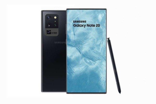 Смартфон Samsung Galaxy Note 20 презентовали на качественных рендерах