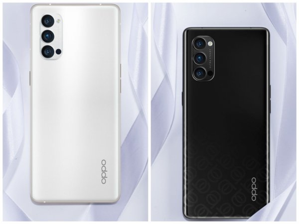 Oppo показали внешность нового Reno 4 Pro