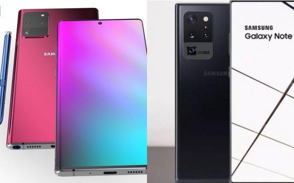 Samsung Galaxy Note 20 Plus оснастят 108 Мп камерой и 50-кратным зумом